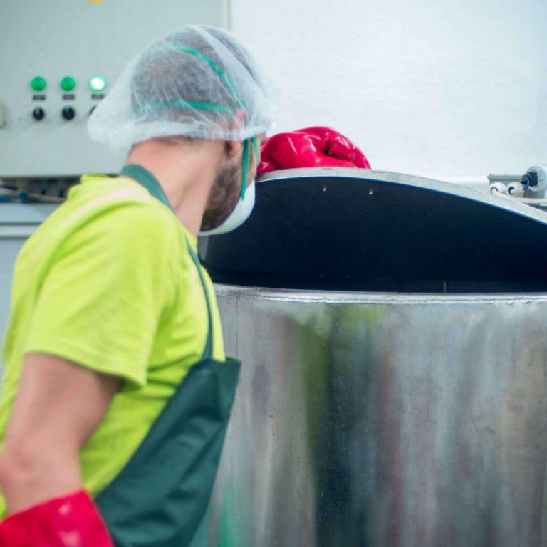 производство на сироп от бъз